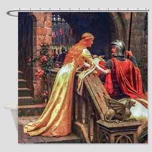 Leighton - God Speed! Shower Curtain