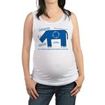 Rhino Facts Maternity Tank Top