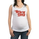 HotintheZipper10 Maternity Tank Top