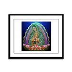 Guadalupe Glow Framed Panel Print