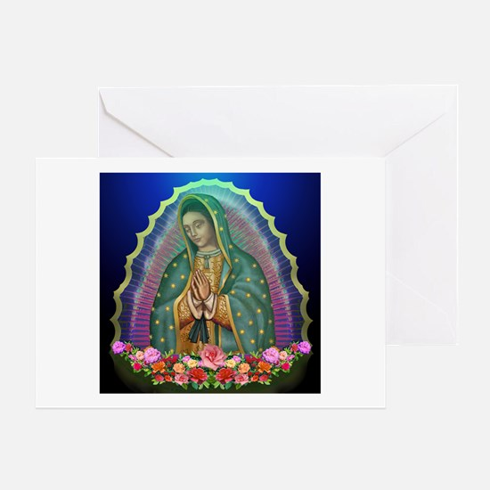 Guadalupe Glow Greeting Card