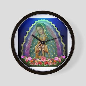 Guadalupe Glow Wall Clock