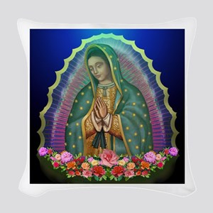 Guadalupe Glow Woven Throw Pillow
