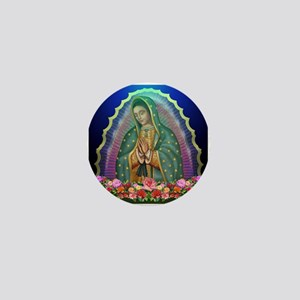 Guadalupe Glow Mini Button