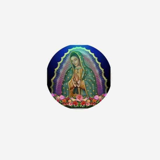 Guadalupe Glow Mini Button