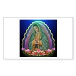 Guadalupe Glow Sticker (Rectangle)