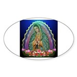 Guadalupe Glow Sticker (Oval)