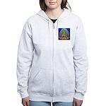 Guadalupe Glow Women's Zip Hoodie