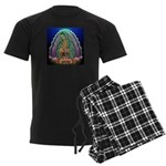 Guadalupe Glow Men's Dark Pajamas