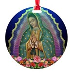 Guadalupe Glow Round Ornament