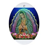 Guadalupe Glow Ornament (Oval)