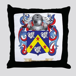 Fennell Coat of Arms Throw Pillow