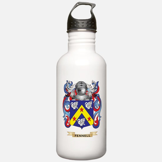 Fennell Coat of Arms Water Bottle