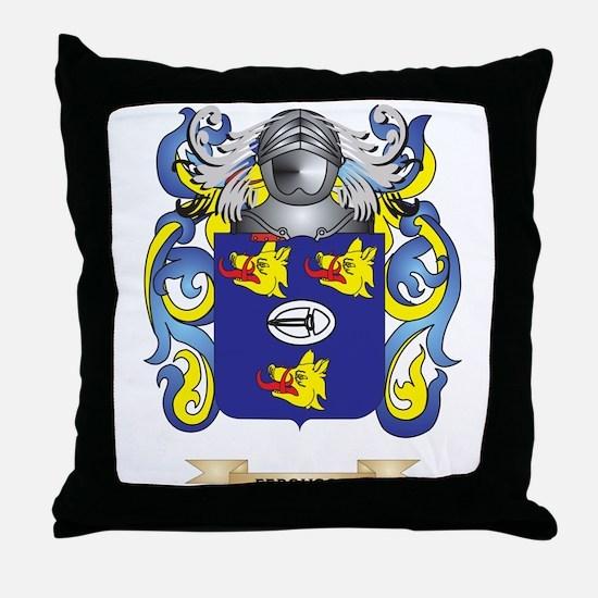 Ferguson Coat of Arms Throw Pillow