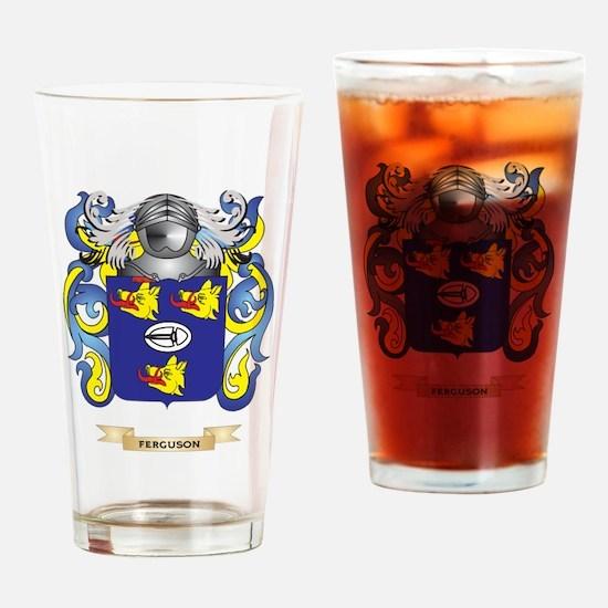 Ferguson Coat of Arms Drinking Glass