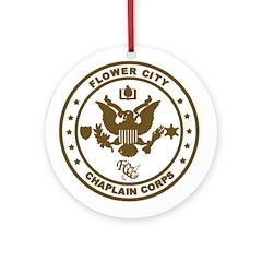 Flower City Chaplain Corps Ornament (Round)