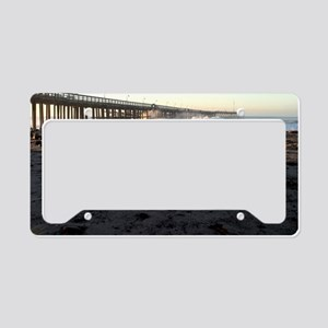 Ventura Pier Sturm Wave License Plate Holder