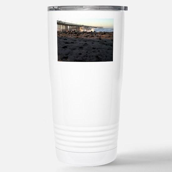 Ventura Pier Sturm Wave Stainless Steel Travel Mug