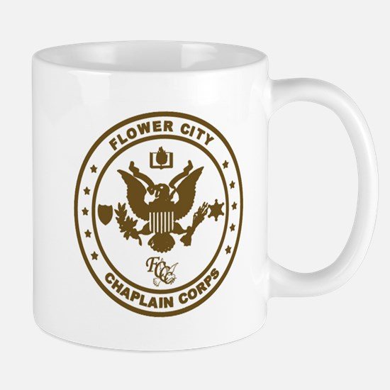 Flower City Chaplain Corps Logo, Gold Mug