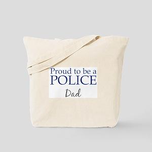 Police: Dad Tote Bag