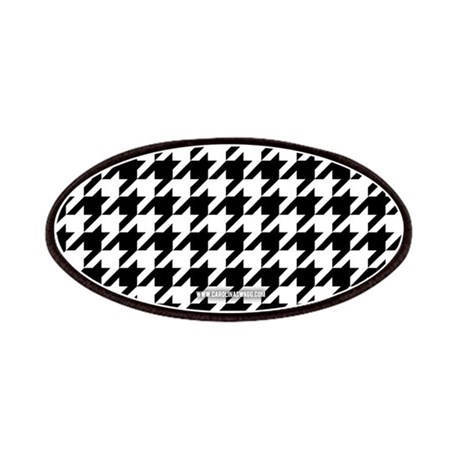Houndstooth White Patches