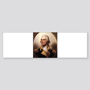 Washington Portrait Bumper Sticker