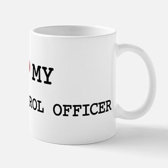 I Love HIGHWAY PATROL OFFICER Mug