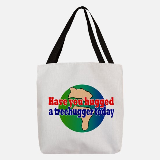 Go green Polyester Tote Bag
