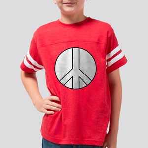 PEACE SIGN Youth Football Shirt