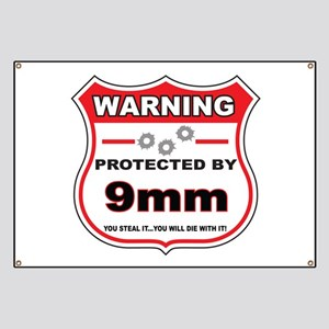 protected by 9mm shield Banner