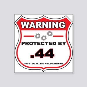 protected by 44 shield Sticker