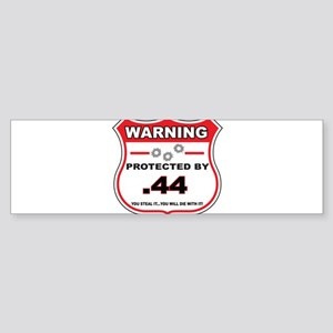 protected by 44 shield Bumper Sticker
