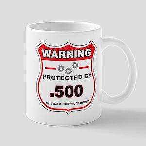 protected by 500 shield Mug