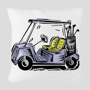 j0296212 Woven Throw Pillow
