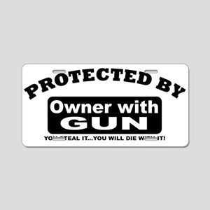property of protected by gun owner b Aluminum Lice