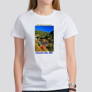 Women's T-Shirt - Cloudcroft Trestle