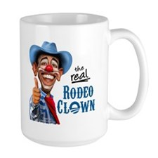 Obama Rodeo Clown Large Mug