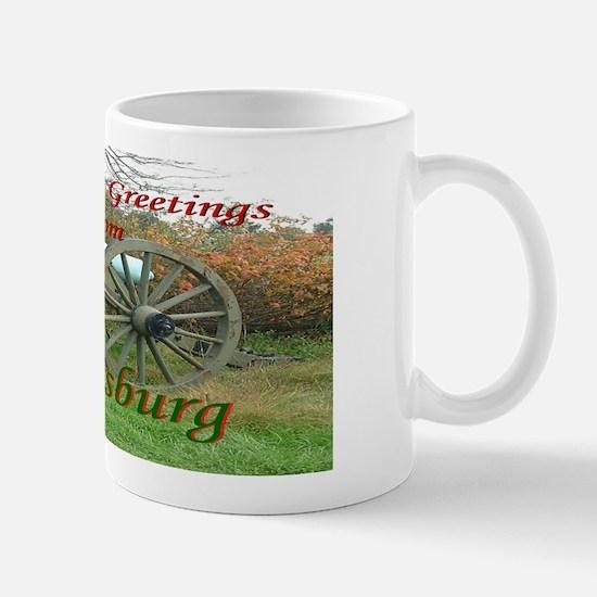 Gettysburg Cannon Mug