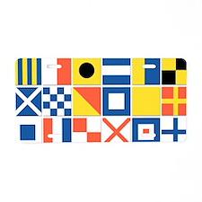 Nautical Flags Aluminum License Plate