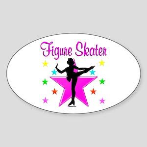 CHAMPION SKATER Sticker (Oval)