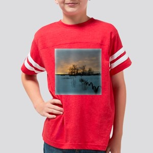 Sunset0019sqw Youth Football Shirt