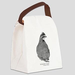 Bobwhite Quail Canvas Lunch Bag