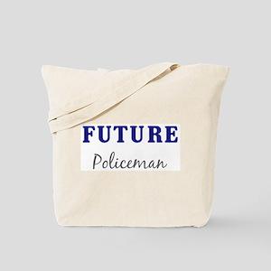Future Policeman Tote Bag