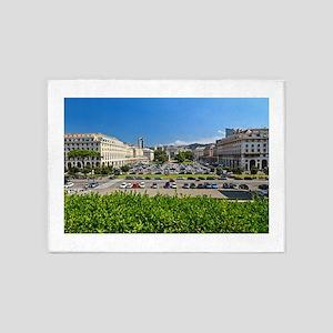 Piazza della Vittoria 5'x7'Area Rug