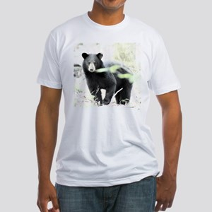 Black Bear Fitted T-Shirt