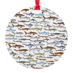 School of Sharks 2 Ornament