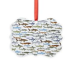 School of Sharks 2 Ornament