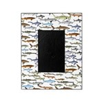School of Sharks 2 Picture Frame