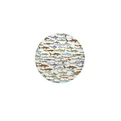 School of Sharks 2 Mini Button (100 pack)