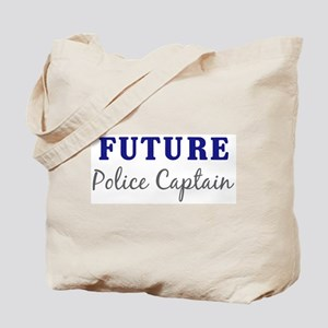Future Police Captain Tote Bag